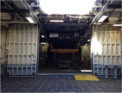 Cargo/Boat Launching Doors